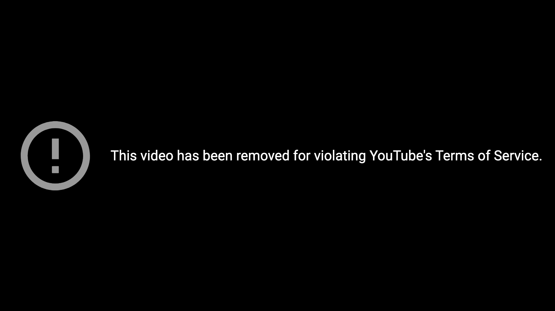 YouTube Censorship